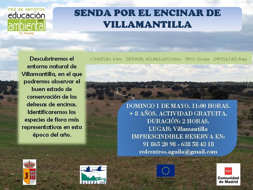 1 MAYO - Senda por Villamantilla