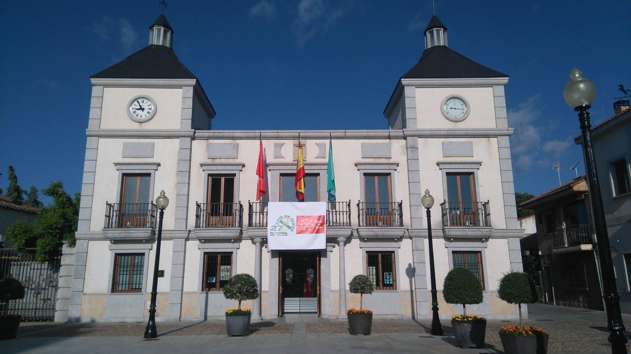 Ayuntamiento de Colmenar del Arroyo.