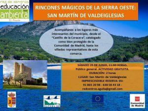 Sábado 25 Junio - Rincones mágicos - San Martín de Valdeiglesias