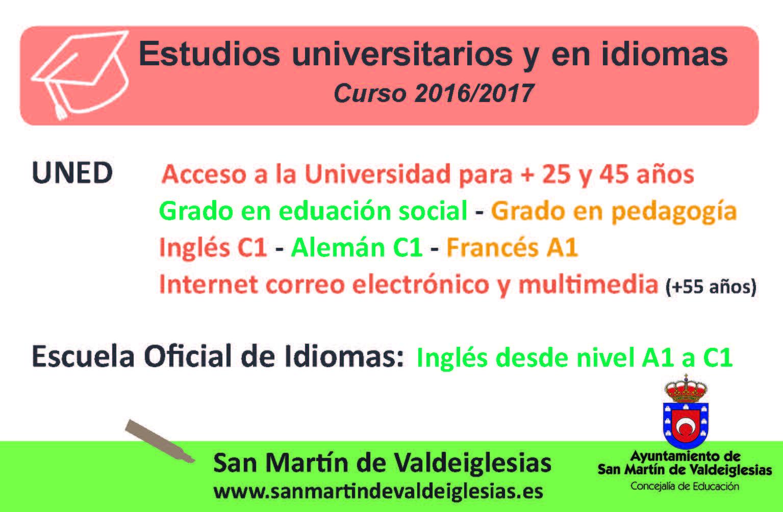 UNED SAN MARTÍN DE VALDEIGLESIAS