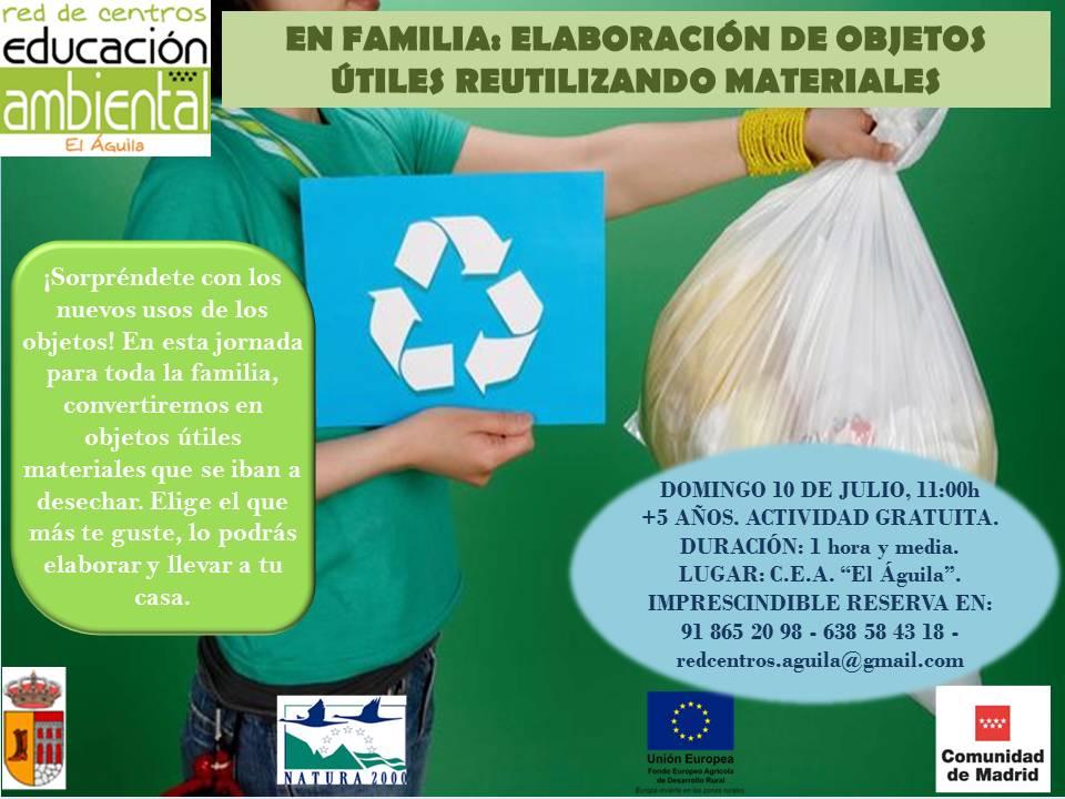 10 Julio- Materiales reciclados