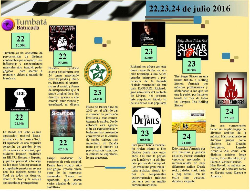 FESTIVAL DE TRIBUTOS. 1