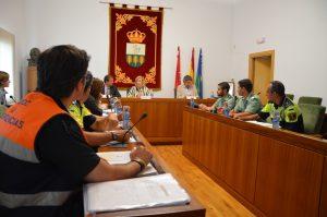 Imagen de la sesión celebrada en el Salón de Plenos.