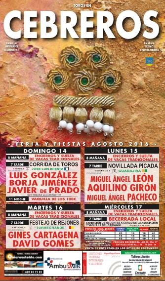 Fiestas Cebreros TOROS