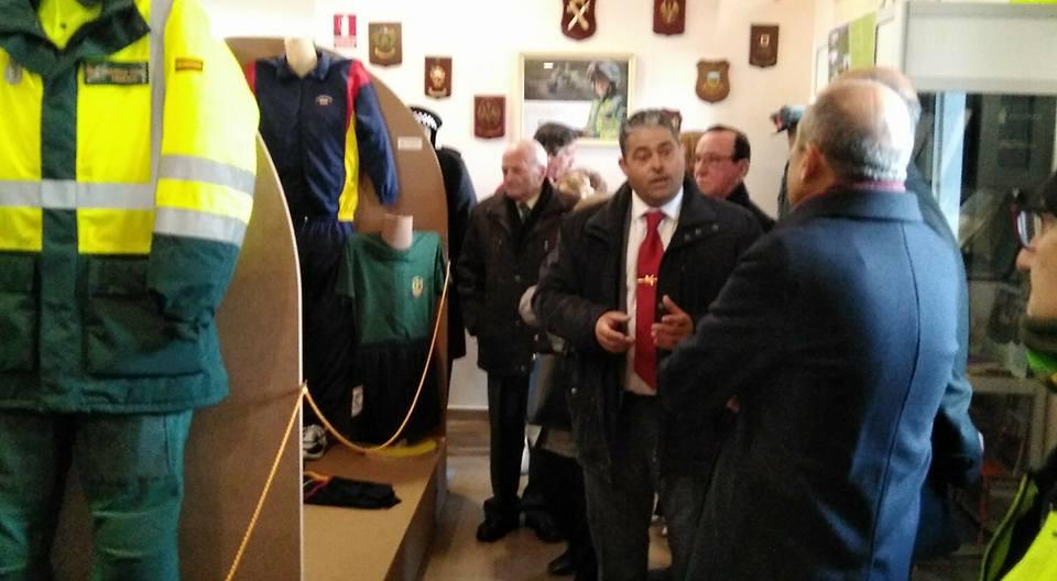 Inaugurado el museo del guardia civil en navas del rey - Pavimarsa navas del rey ...