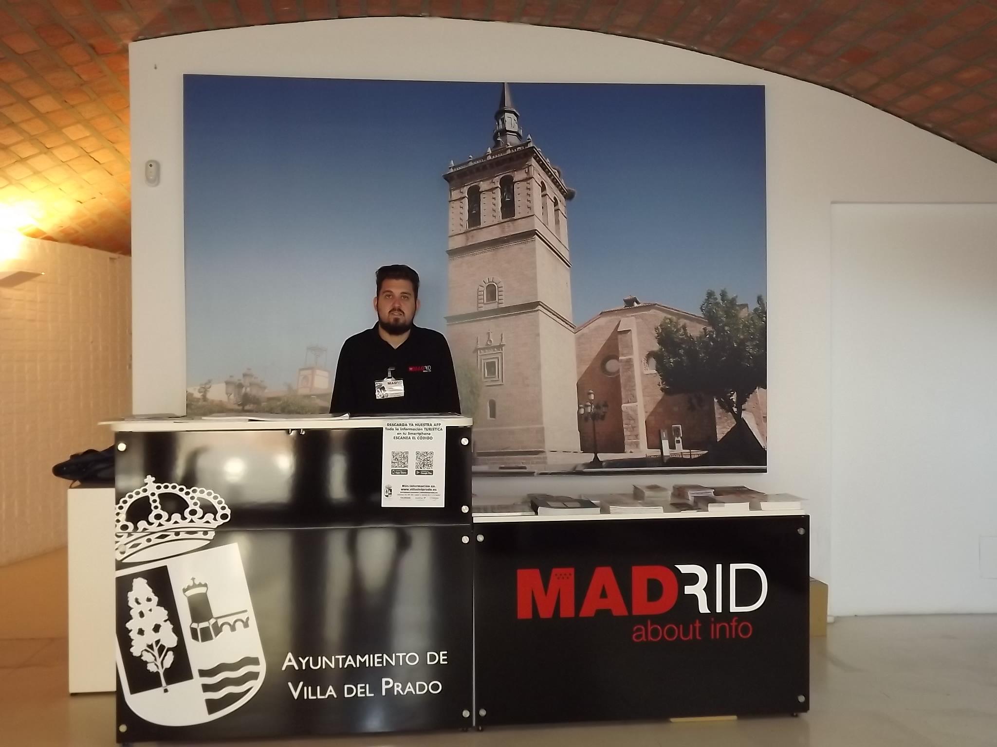 La cueva de una antigua casa de labranza alberga la for Oficina de turismo de la comunidad de madrid
