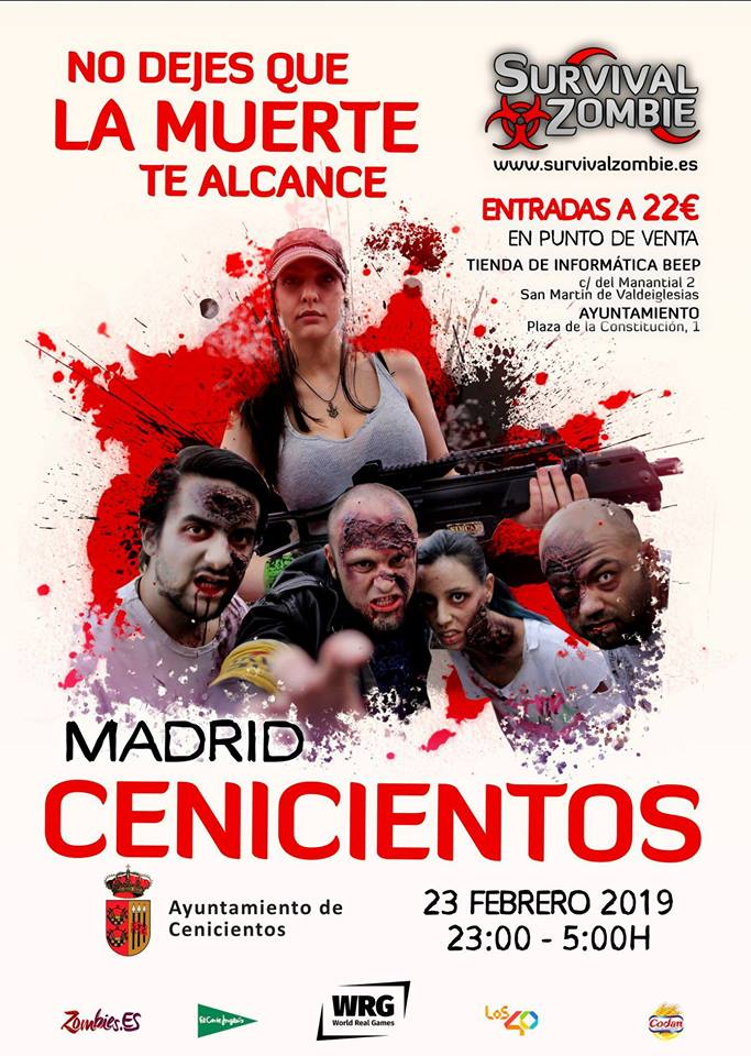 SURVIVAL ZOMBIE CENICIENTOS